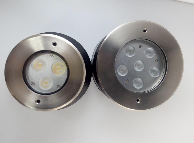 Small Power Recessed Underwater Light